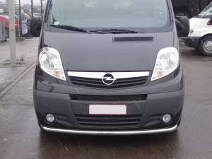 RENAULT TRAFIC 2006+ FRONT BUMPER GUARD SINGLE STRIGHT Ø60